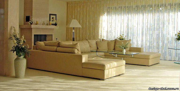 Дизайн интерьера гостинная